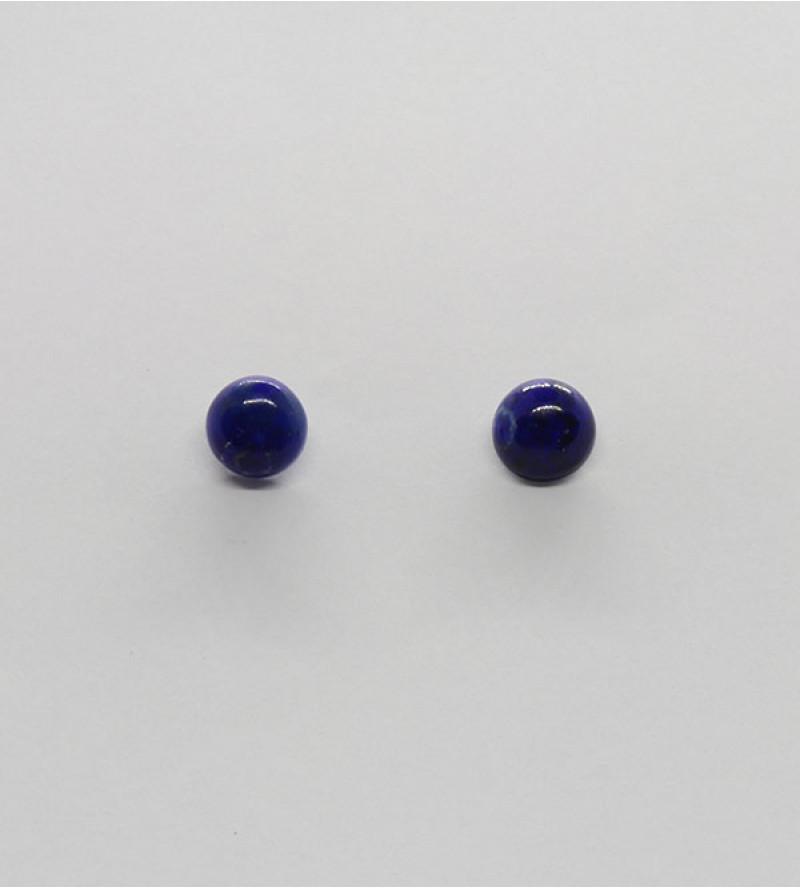 Mira lápisz lazuli ásvány fülbevaló