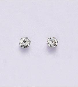 Nelli bizsu kristály fülbevaló 0,55