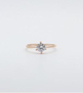 Rose köves gyűrű
