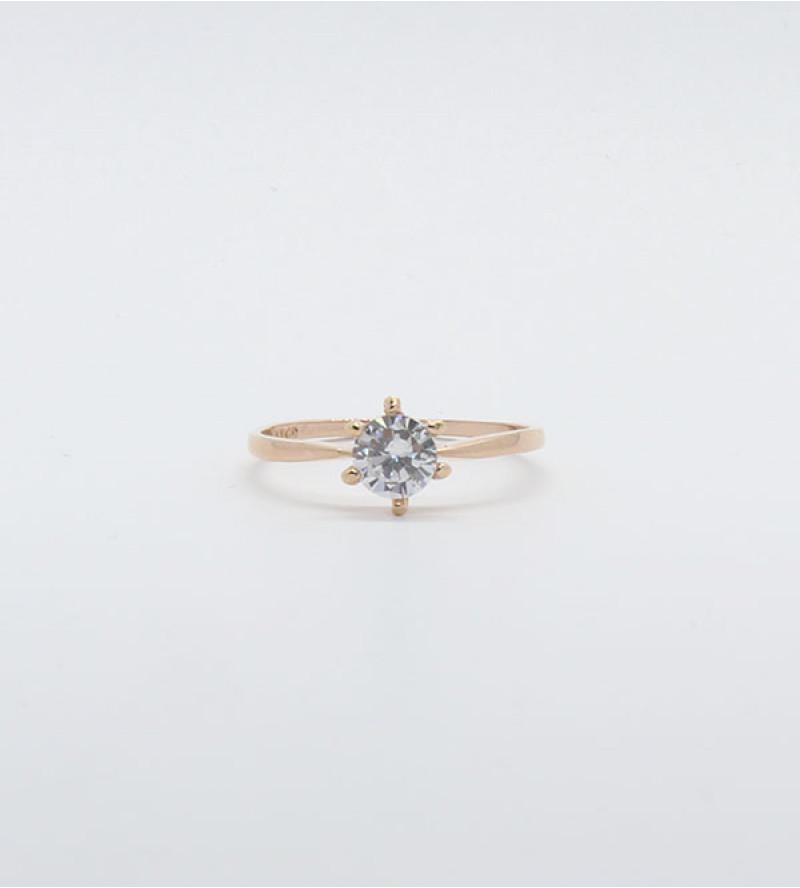Rose bizsu kristály gyűrű