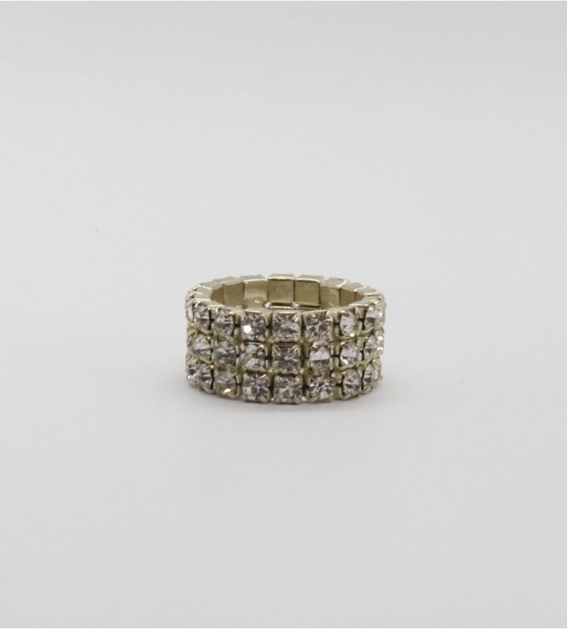 Rosita bizsu kristály gyűrű