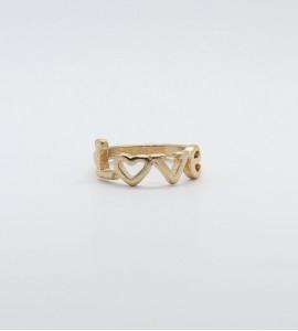 Ramóna love bizsu gyűrű
