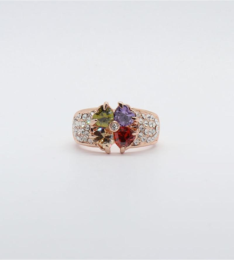 Rella bizsu kristály gyűrű