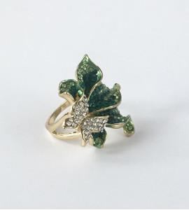 Rafaella bizsu kristály gyűrű