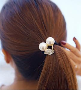 Fanni cseresznye hajgumi / hajdísz