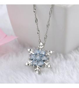 Zara hópehely bizsu kristály nyaklánc