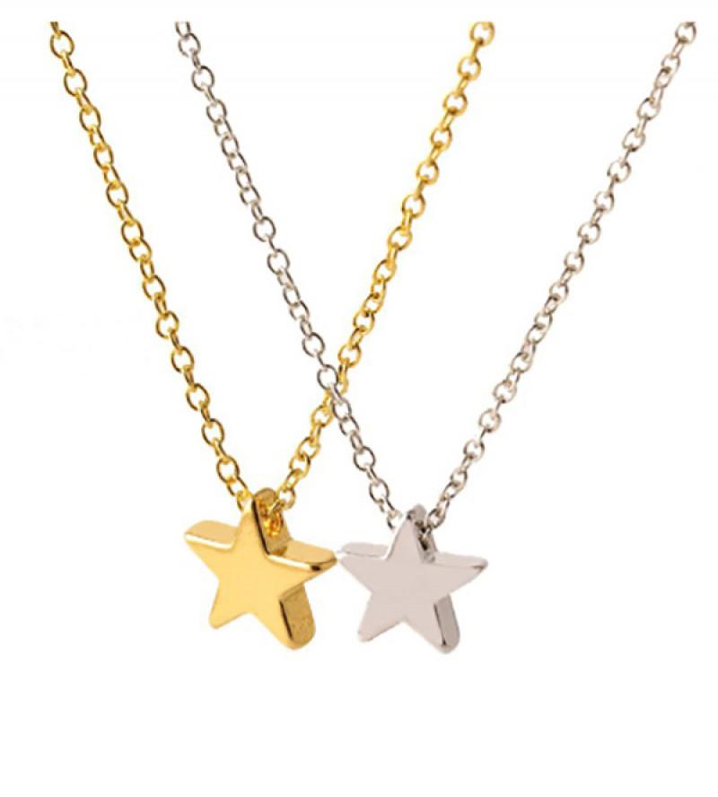 Leila csillag bizsu nyaklánc