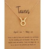 Horoszkóp bizsu nyaklánc BIKA