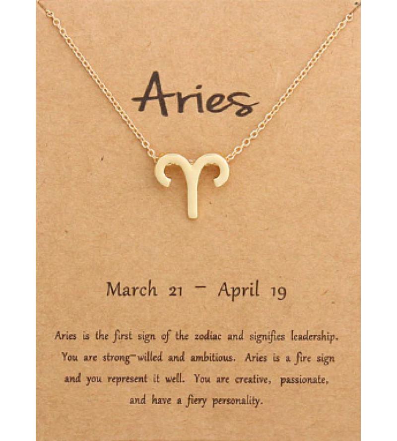 Horoszkóp bizsu nyaklánc KOS