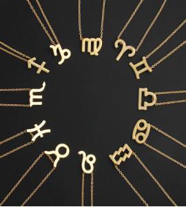 Horoszkóp bizsu nyaklánc SKORPIÓ