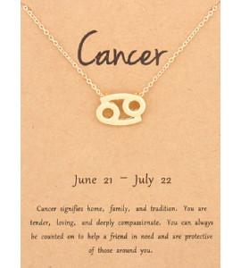 Horoszkóp bizsu nyaklánc RÁK
