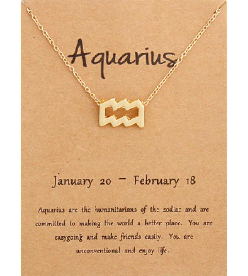 Horoszkóp nyaklánc VÍZÖNTŐ