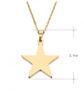 Leona csillag bizsu nyaklánc