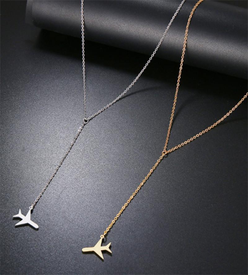 Veszna repülőgép bizsu nyaklánc