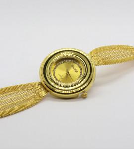 Gold bizsu ékszer óra