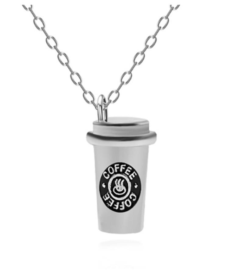 Café bizsu kávés nyaklánc