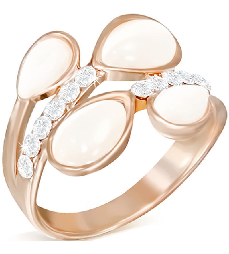 Arany színű divat gyűrű, macskaszem kővel