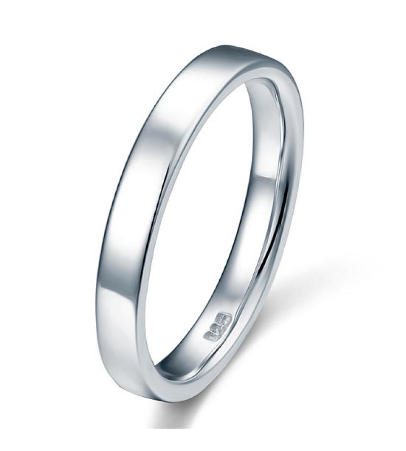 Ezüst karika gyűrű-8,5