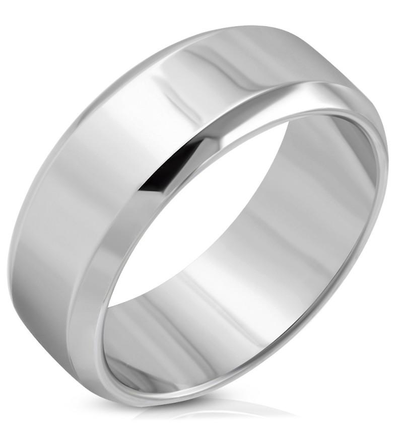 Ezüst színű gravírozható nemesacél gyűrű-11