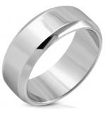 Ezüst színű gravírozható nemesacél gyűrű-12